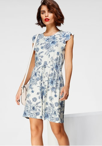 Tamaris Jerseykleid, mit Flügelärmeln kaufen