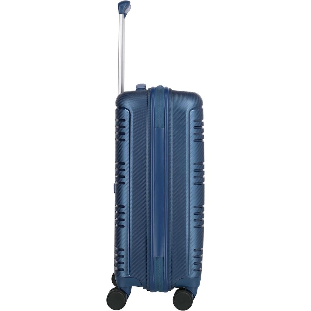travelite Hartschalen-Trolley »Zenit S Blau«, 4 Rollen