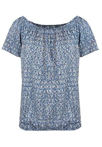 bianca Carmenshirt »SIANA«, im femininen Minimal-Print kaufen