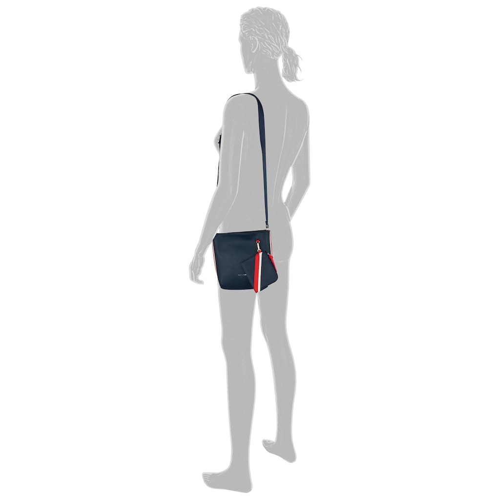 TOM TAILOR Umhängetasche »Isabel«, mit kleiner abnehmbaren Reißverschlusstasche