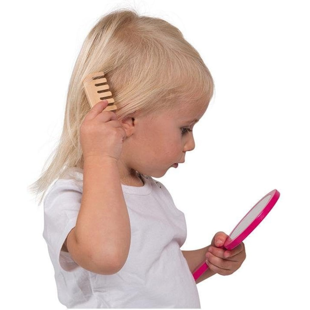 Janod Spielzeug-Frisierkoffer »Schminkköfferchen Little Miss, rosa«