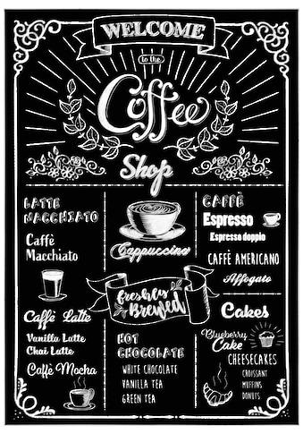 KOMAR Wandtattoo »Coffeeshop«, selbsthaftend, rückstandslos abziehbar kaufen