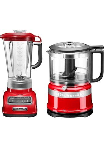KitchenAid Standmixer »5KSB1585EER und Mini Zerkleinerer 5KFC3516«, 550 W,... kaufen