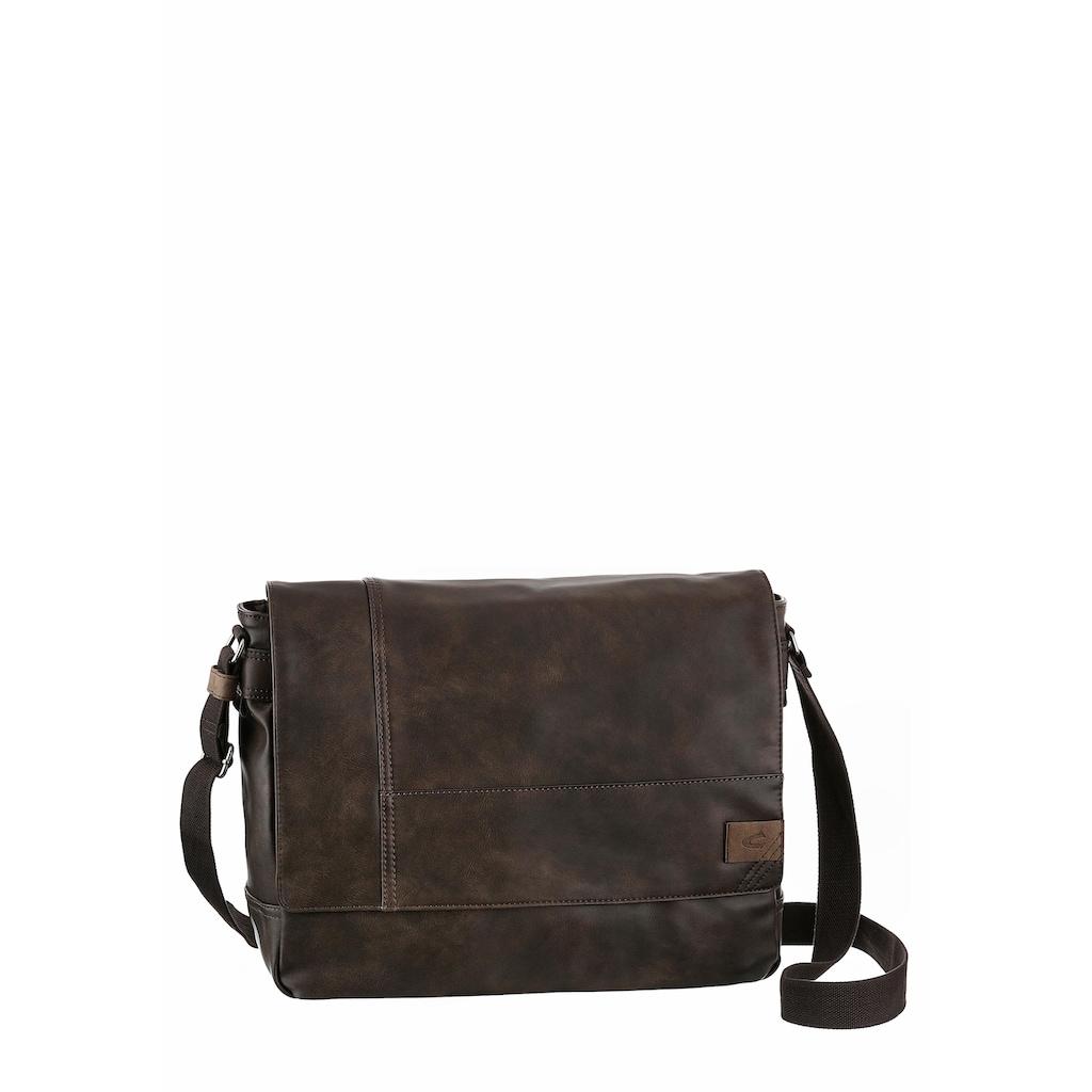 camel active Messenger Bag »LAOS«, mit gepolstertem Laptopfach