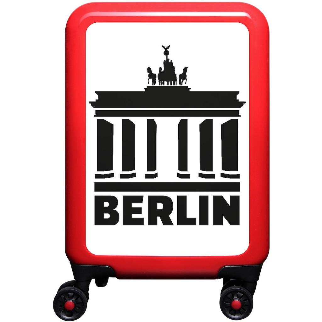 meinTrolley Hartschalen-Trolley »Berlin, 55cm«, 4 Rollen, Made in Germany