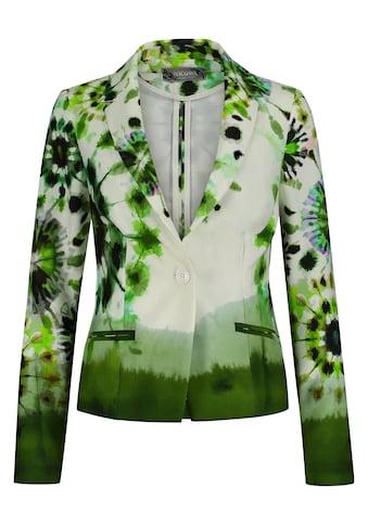 Nicowa Extravaganter Blazer ENEVA mit Batik-Design kaufen