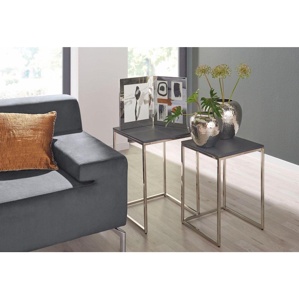 Fink Dekovase »LOSONE«, mit gehämmerter Oberfläche