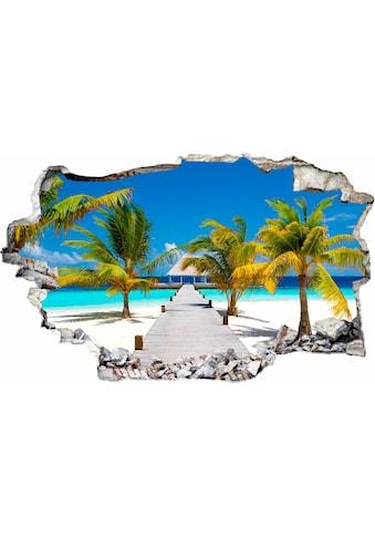 Wall-Art Wandtattoo »Der weg ins Paradies« kaufen