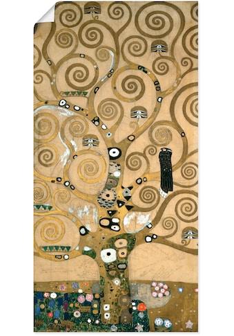 Artland Wandbild »Lebensbaum. Detail, Werkvorlage« kaufen