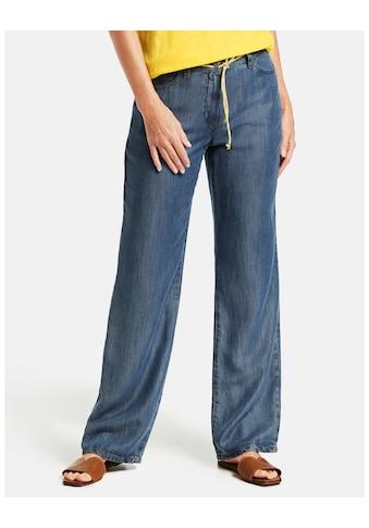 GERRY WEBER Hose Jeans lang »Hose in Denim - Optik« kaufen