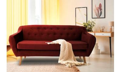 andas 3-Sitzer »Renne«, mit Heftung im Rücken im skandinavischem Stil kaufen
