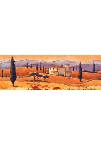 Home affaire Kunstdruck »Toskanische Landschaft«, 100/35 cm kaufen