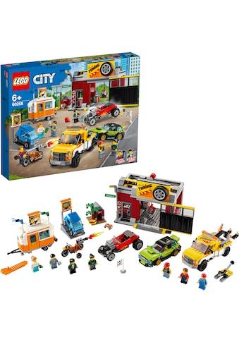 LEGO® Konstruktionsspielsteine »Tuning-Werkstatt (60258), LEGO® City Nitro Wheels«,... kaufen