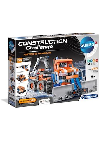 Clementoni® Modellbausatz »Galileo - Construction Challenge - Arktische Fahrzeuge«,... kaufen