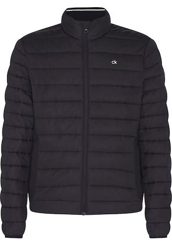 Calvin Klein Kurzjacke »LIGHT WEIGHT SIDE LOGO JACKET« kaufen