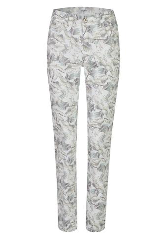 ANGELS 7/8-Jeans, 'Cici' mit floralem Allover-Muster kaufen