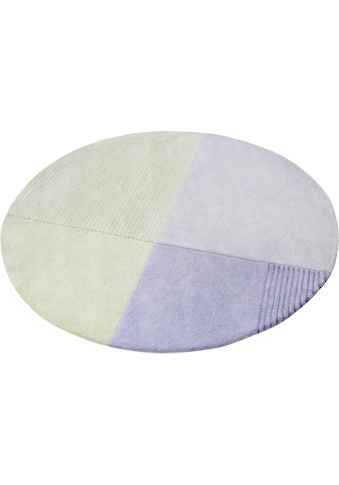 Esprit Teppich »Harlem«, rund, 9 mm Höhe, Wohnzimmer kaufen