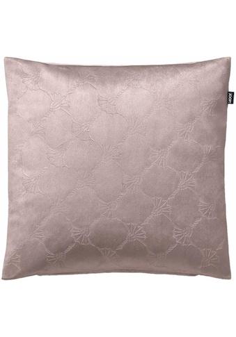 Joop! Kissenhülle »JOOP! EMBOSS«, (1 St.), mit geprägtem Kornblumen-Allover-Muster kaufen