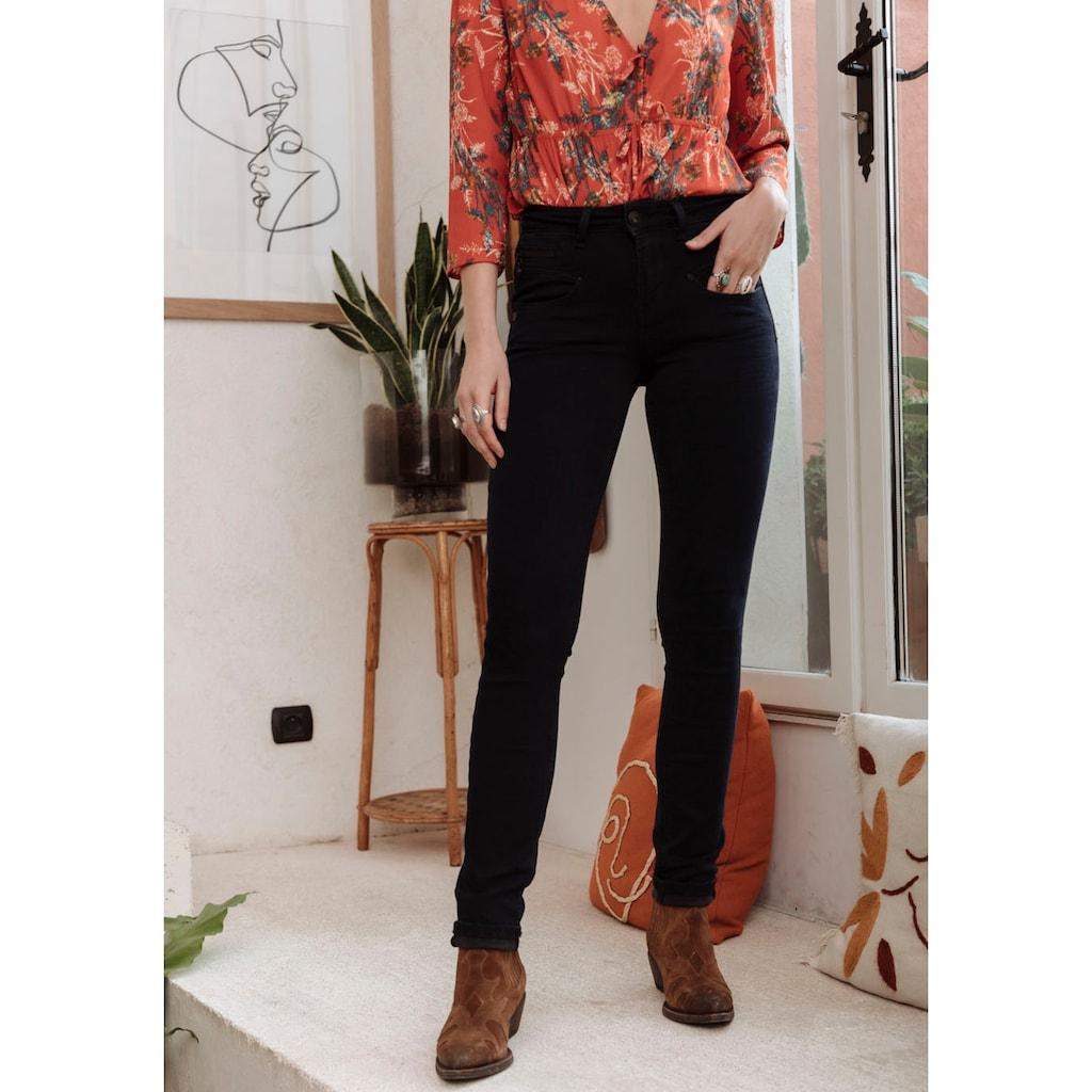 Freeman T. Porter High-waist-Jeans »ALEXA Waist«, mit Glanznieten und Glitzersteinen