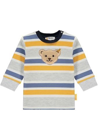 Steiff Sweatshirt »mit Bärchenapplikation« kaufen