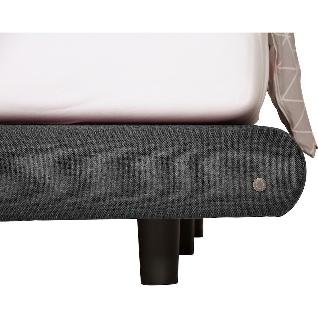 TOM TAILOR Boxspringbett »SOHO PILLOW BOX«, in Schwebeoptik, Kopfteil in Kissenform, Höhe 120 cm