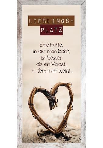 Bönninghoff Bild mit Rahmen »Cheb ca.23x49 cm«, (1 St.) kaufen