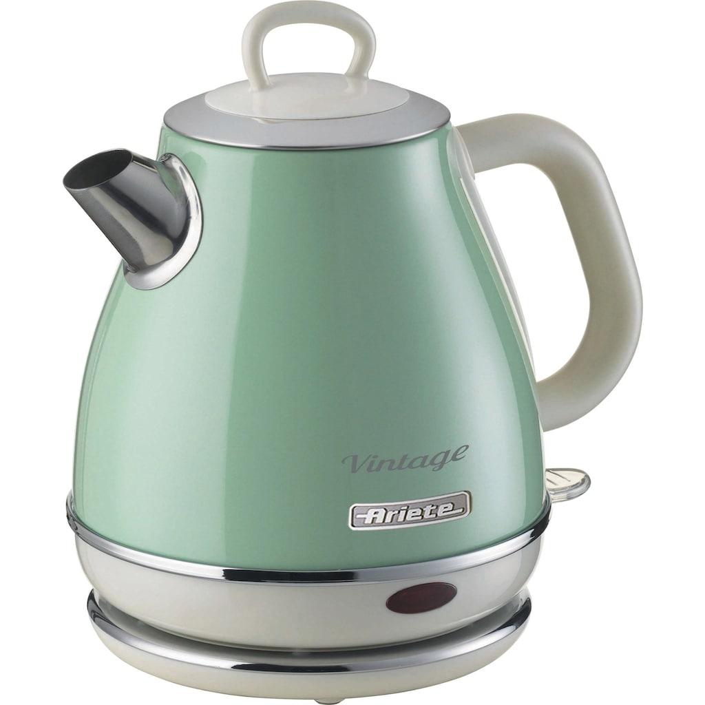 Ariete Wasserkocher »2868GR Vintage 1 L grün«, 1 l, 1630 W
