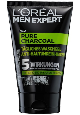 L'ORÉAL PARIS MEN EXPERT Waschgel »Pure Charcoal«, beseitigt Pickel, Mitesser &... kaufen