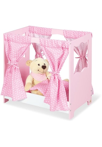 Pinolino® Puppenbett »Jasmin«, (Set, 5 tlg.), inkl. Himmel kaufen