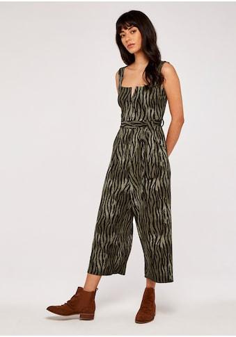 Apricot Jumpsuit »Zebra Notch Square Neck Jumpsuit«, mit tiefem Rückenausschnitt kaufen