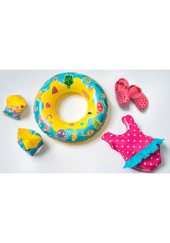 Heless Puppenkleidung »Puppenschwimmset mit Badeanzug und Zubehör«, (Set, 6 tlg.) kaufen