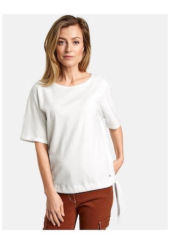 GERRY WEBER T - Shirt 1/2 Arm »1/2 Arm Shirt mit Saumband« kaufen