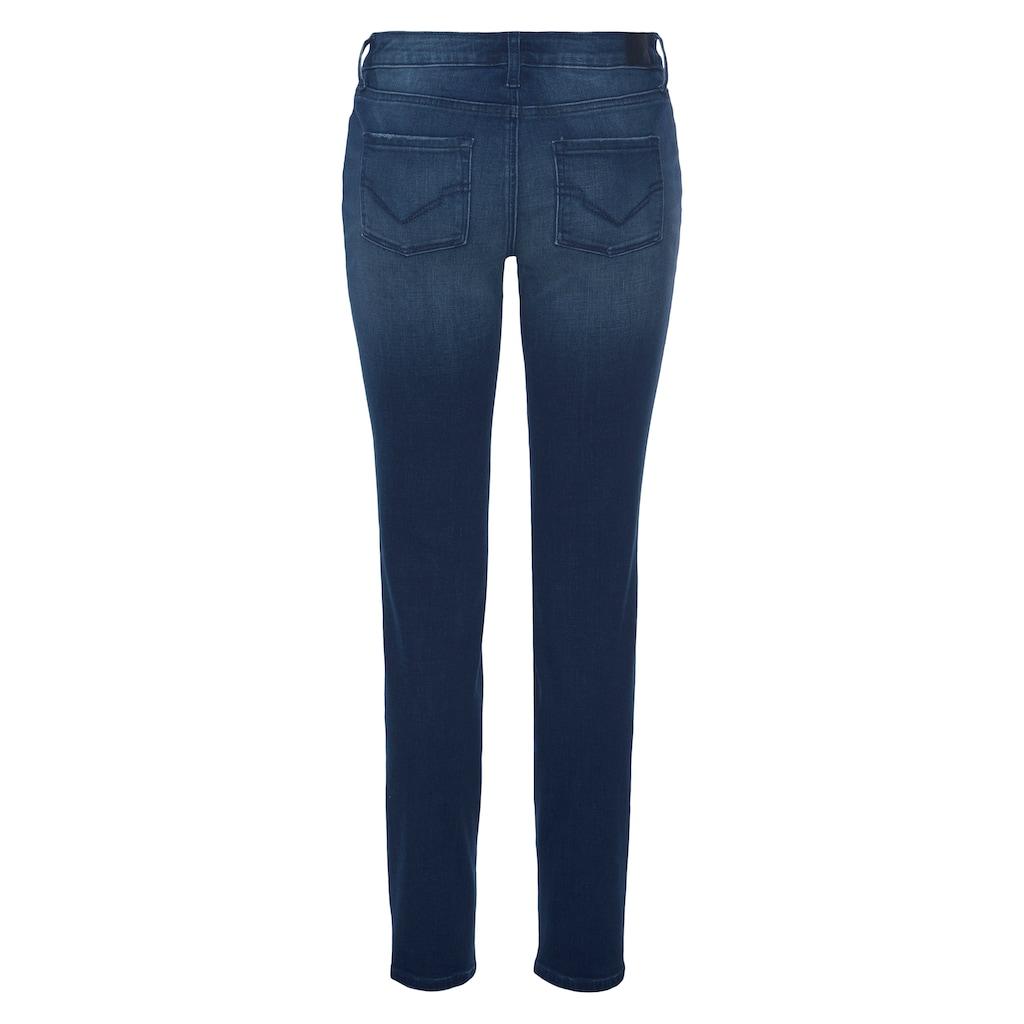 H.I.S Slim-fit-Jeans »low waist«, Nachhaltige, wassersparende Produktion durch OZON WASH