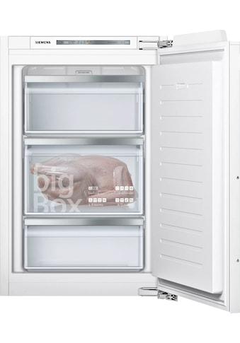 SIEMENS Einbaugefrierschrank iQ500, 87,4 cm hoch, 55,8 cm breit kaufen