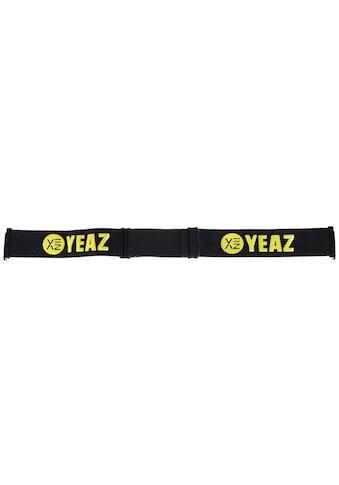 YEAZ Skibrille »XTRM-SUMMIT«, Ersatzkopfband schwarz/gelb kaufen