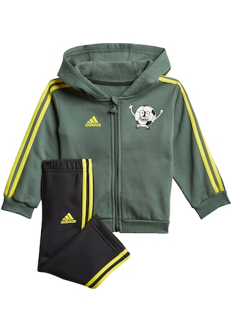 adidas Performance Jogginganzug »INFANTS LIL 3 STRIPES JOGGER SET FLEECE« kaufen