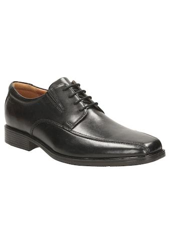 Clarks Schnürschuh »Tilden Walk«, mit modischer Ziernaht kaufen