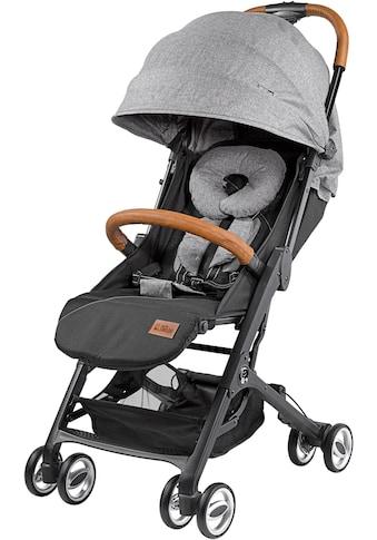 Gesslein Kinder-Buggy »Babies Smiloo Cuby, grau-meliert«, mit Frontbügel kaufen