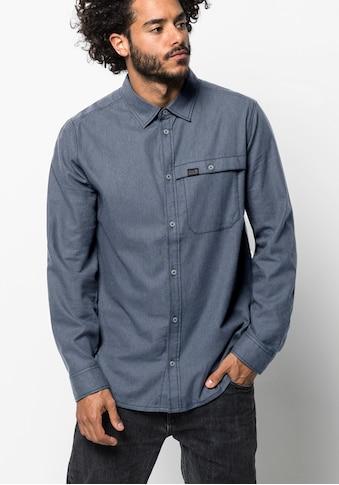 Jack Wolfskin Flanellhemd »NAKA RIVER SHIRT M« kaufen
