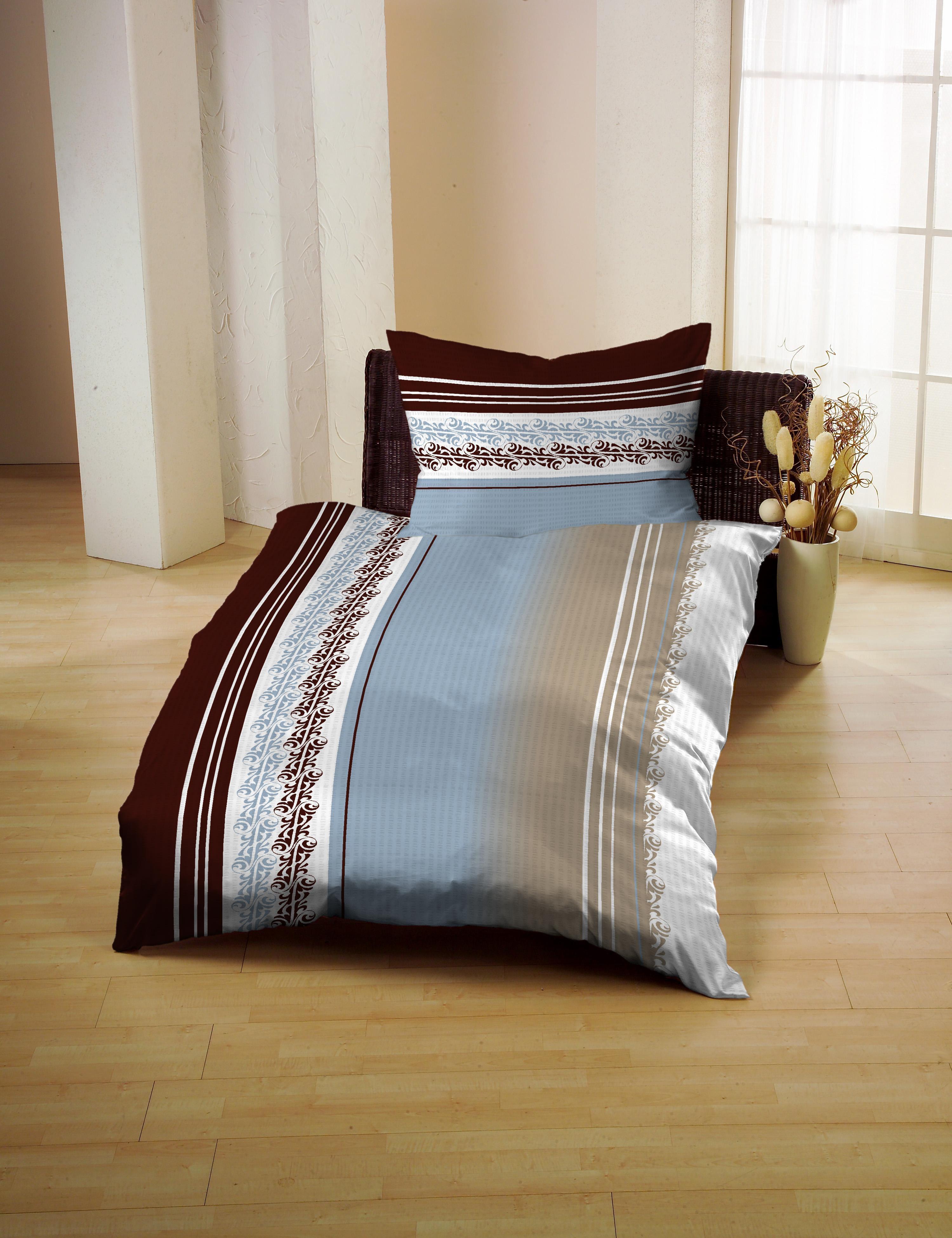 seersucker bettw sche gerald wittmann 2tlg auf. Black Bedroom Furniture Sets. Home Design Ideas