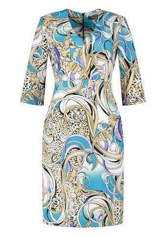 Nicowa Stilvolles gemustertes Kleid kaufen