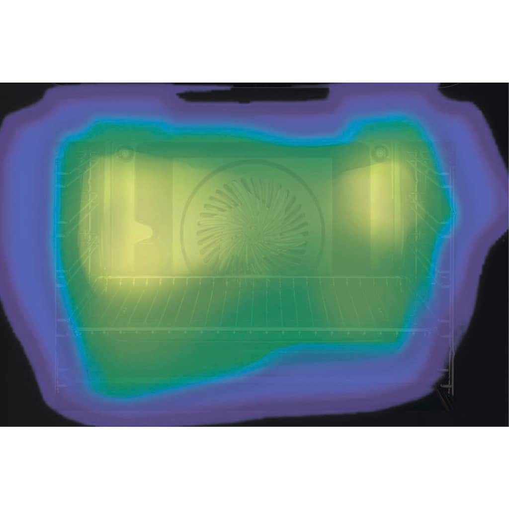 AEG Elektro-Herd-Set »TEAMHH3PID«, EPE555220M, mit Teilauszug, Pyrolyse-Selbstreinigung, SteamBake - Feuchtigkeitszugabe