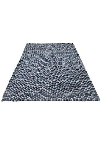 Wollteppich, »Maja«, Home affaire, rechteckig, Höhe 22 mm, handgewebt kaufen