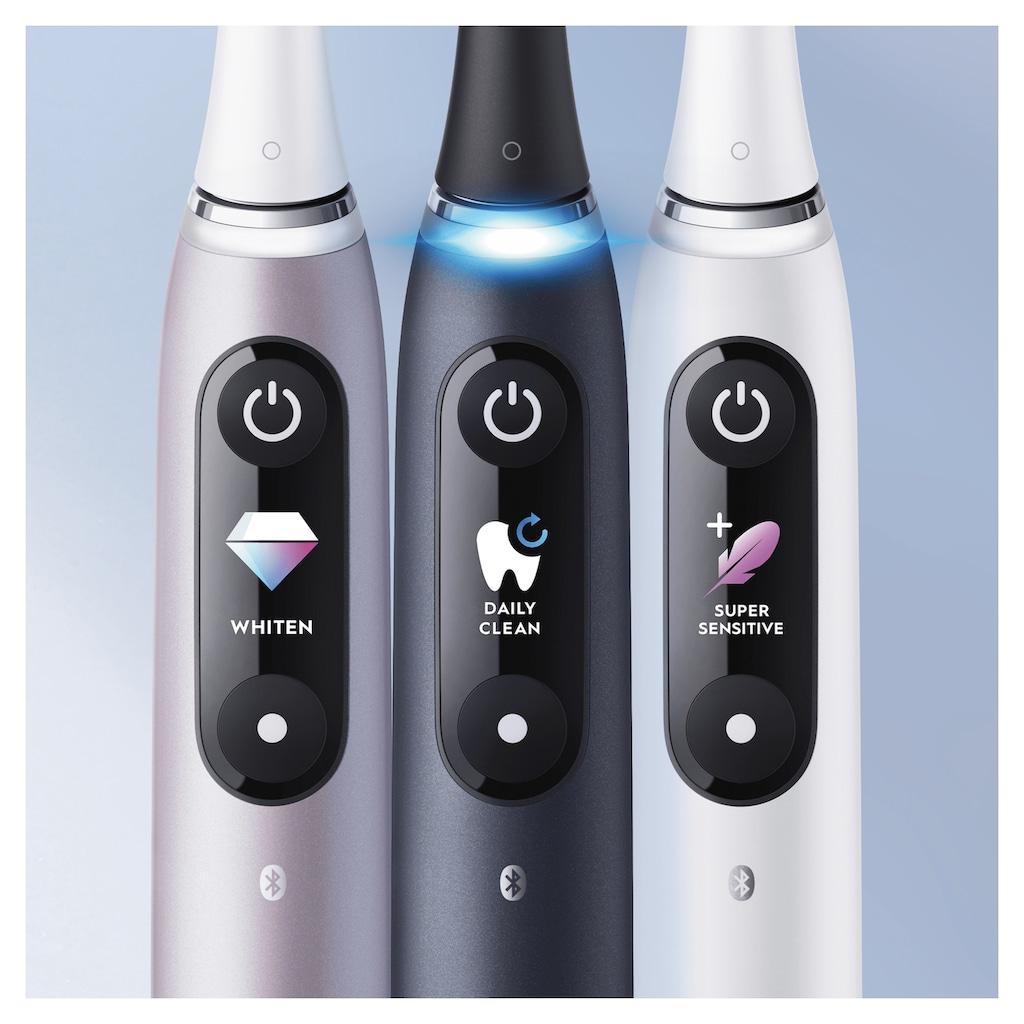 Oral B Elektrische Zahnbürste »iO Series 9N«, 1 St. Aufsteckbürsten, mit Magnet-Technologie, sanfte Mikrovibrationen, 7 Putzprogramme & Farbdisplay, Lade-Reise-Etui
