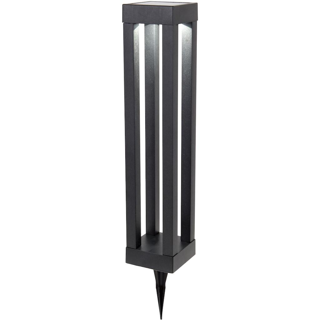 näve LED Außen-Tischleuchte, LED-Modul, 1 St., Kaltweiß, LED Gartenleuchte oder Außentischleuchte