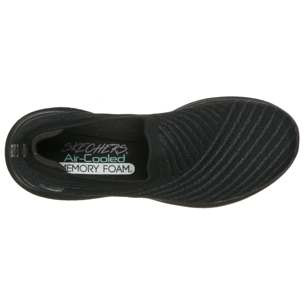 Skechers Slip-On Sneaker »ULTRA FLEX«, mit gepolstertem Fersenpart