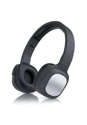 CSL 320er Bluetooth Alu Kopfhörer mit 40mm Treiber »mit Mikrofon / BT 4.0 & 3,5mm Klinkenbuchse« kaufen