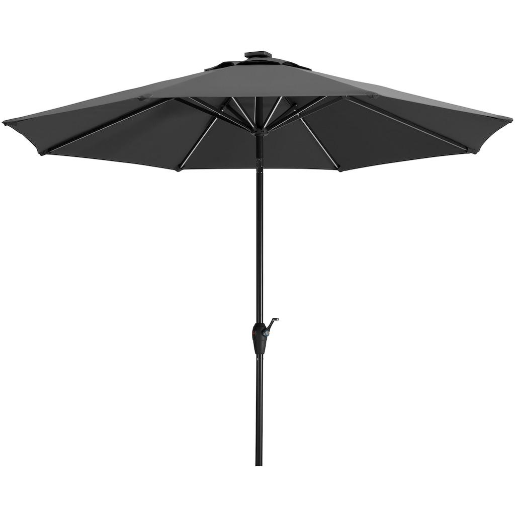 Schneider Schirme Sonnenschirm »Blacklight it«, ohne Schirmständer