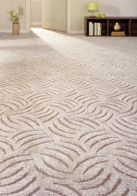 beiger Teppichboden