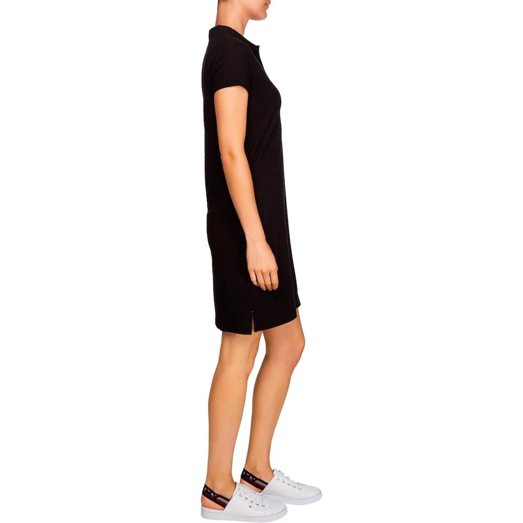 Tommy Hilfiger Polokleid »NEW SLIM POLO DRESS«, mit Tommy Hilfiger Logo-Flag auf der Brust
